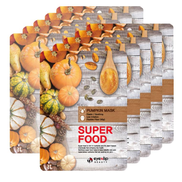 EYENLIP Маска тканевая для лица с тыквой EYENLIP SUPER FOOD PUMPKIN MASK 23 мл 6010257614.jpg