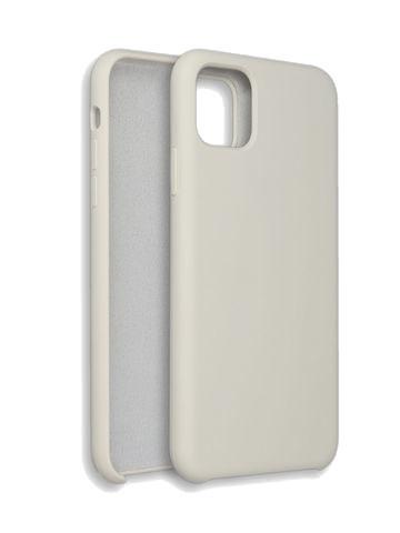 Чехол для iPhone 11 ProMax Софт тач мягкий эффект | микрофибра бежевый