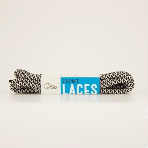 Шнурки Solemate Laces Черно-Белого Цвета