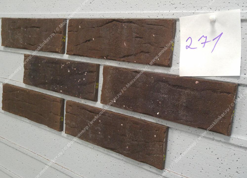 King Klinker - Chocolate tree (HF26), Old Castle, 240x71x10, NF - Клинкерная плитка для фасада и внутренней отделки
