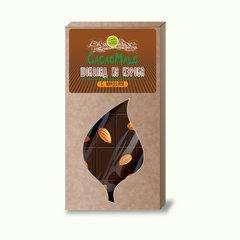 CacaoMalo шоколад из кэроба необжареного с миндалем 85 г