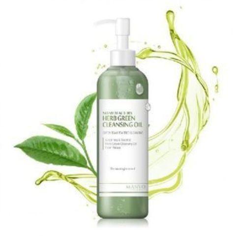 MANYO FACTORY Herbgreen Cleansing Oil Очищающее гидрофильное масло с экстрактами трав