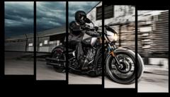 "Модульная картина ""Harley Davidson Sportster"""