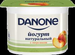 "Йогурт ""Danone"" густой Персик  2,9% 110г"