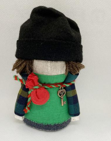 Кукла славянский оберег Богач