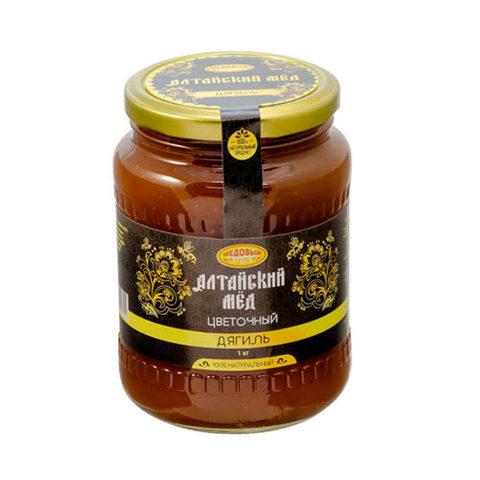 Дягилевый алтайский мёд 1000 г