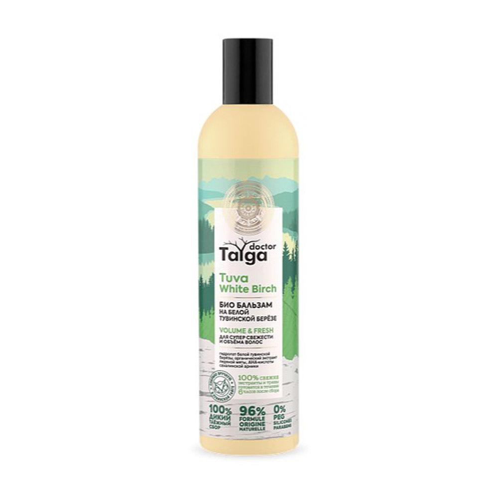 Бальзам-био Освежающий для супер свежести и объема волос Doctor Taiga