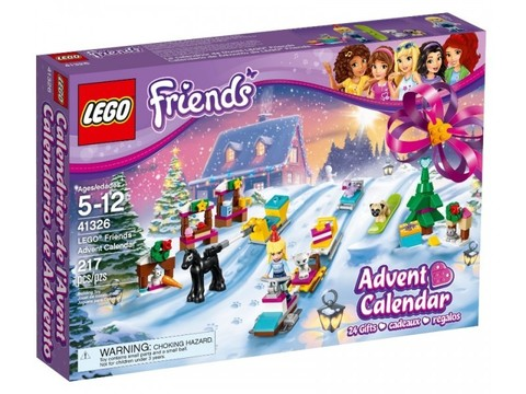 LEGO Friends: Новогодний календарь Friends 41326 — Advent Calendar Friends — Лего Френдз Друзья Подружки