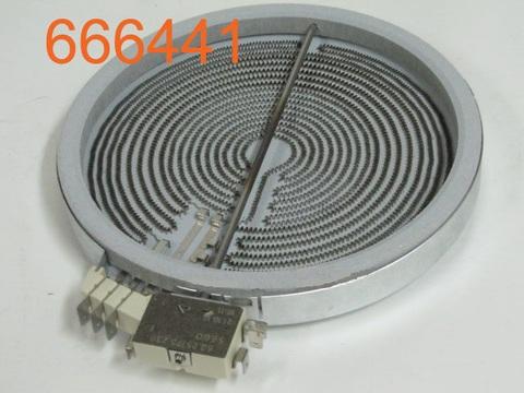 Конфорка GORENJE 3-х зонная 600/1500/2100 W (666441)