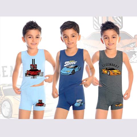 Комплект хлопок мальчику (2-10) 200910-В7619