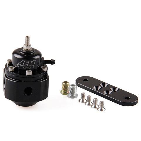 AEM 25-302BK топливный регулятор под фитинги