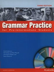 Grammar Practice 3Ed for Pre-Int SB without Key +CD