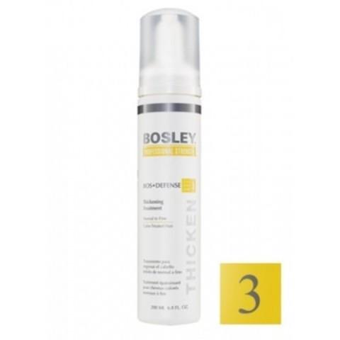 Bosley PRO Defense Желтая линия: Уход для нормальных/тонких/окрашенных волос (Treatment to Normal to Fine Color-Treated), 200мл