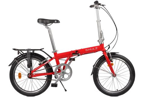 складной велосипед Shulz Max красный