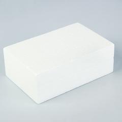 Основа флористическая -  кирпич из пенопласта, 22*14,5*8 см.