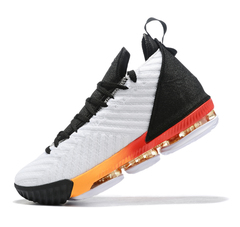 Nike LeBron 16 'White/Black/Red/Yellow'