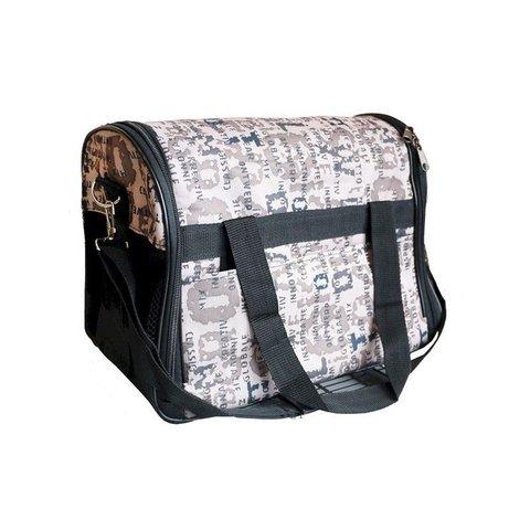 ЗооЭкспресс сумка-переноска полукруглая №2 43*25*27см