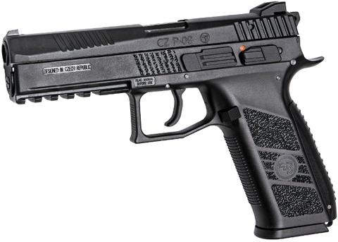 Страйкбольный пистолет CZ P-09, газ, bb, пластик (CO2 опционально)  (артикул 18116)