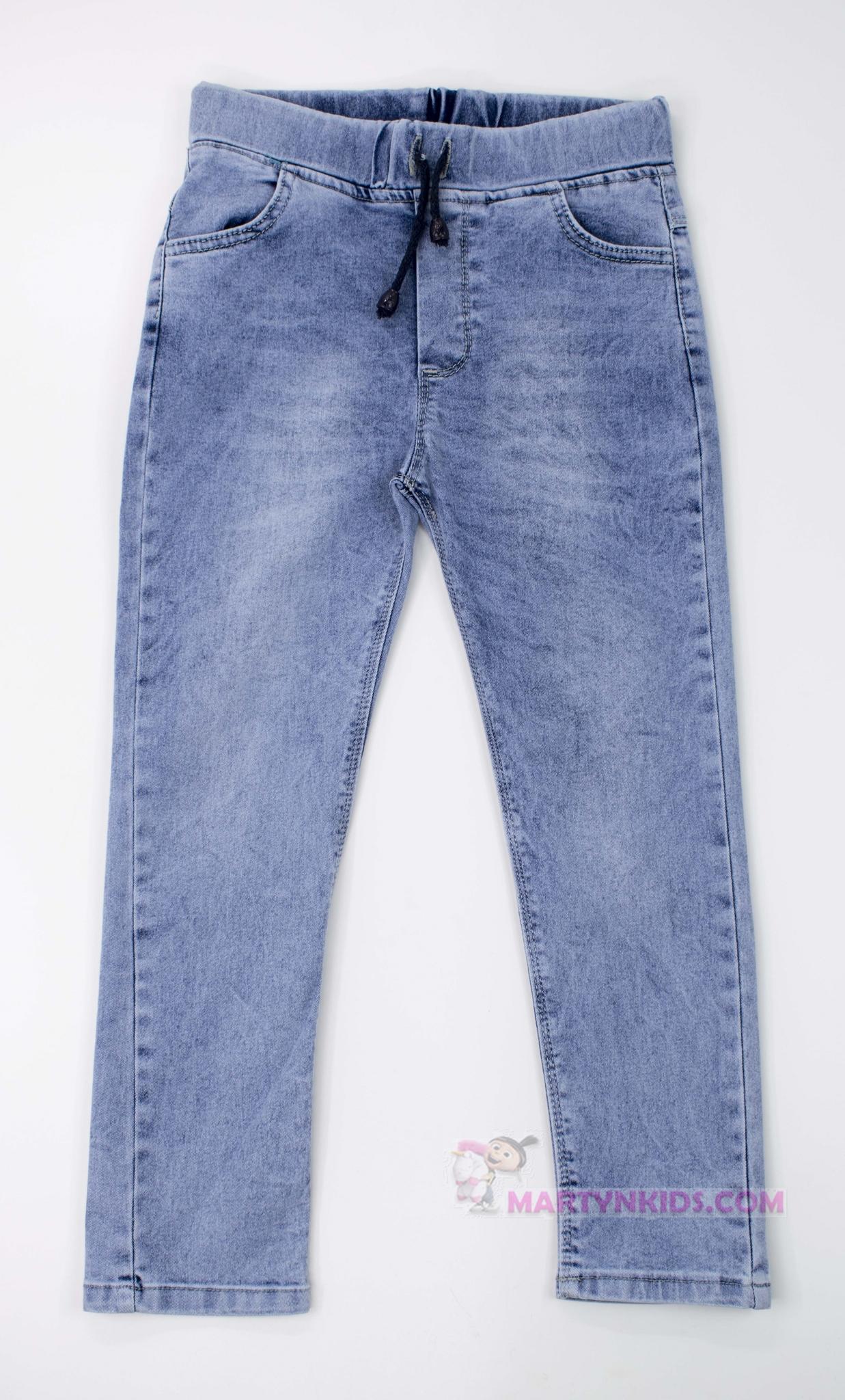 3162  джинсы на резинке