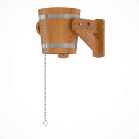 Обливное устройство из дуба 12 литров