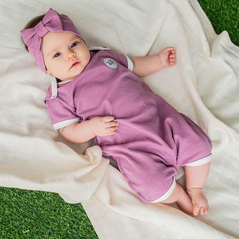 Bodysuit 0+, Lilac
