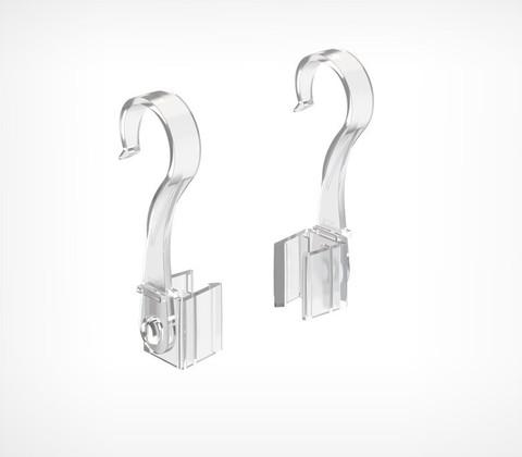 Крючок с подвижным основанием для подвешивания рамок на трубу TUBE HOOK