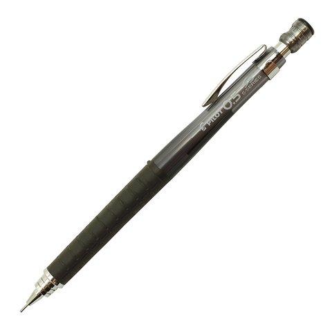 Чертёжный карандаш 0,5 мм Pilot S5 прозрачно-чёрный