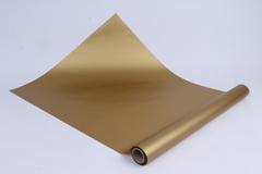 Матовая бумага Золото / рулон 0,5*10м, 50мкр