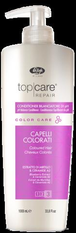 Кондиционер, восстанавливающий нейтральный уровень pH волос и кожи головы после окрашивания – «Top Care Repair Color Care PH Balancer Conditioner»