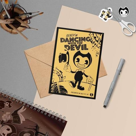Открытка BENDY IN DANCING WITH THE DEVIL