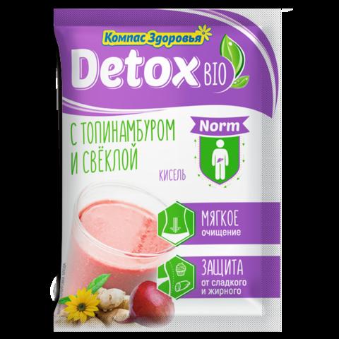 Кисель Компас Здоровья Detox Bio Norm с топинамбуром и свёклой, 10 порций