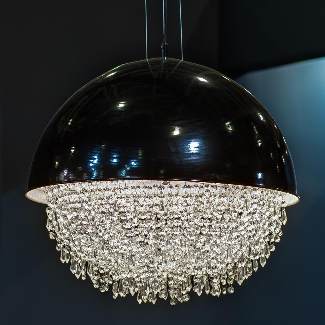 K2DM600-5BL Светильник потолочный черный d60 В52