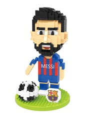 Конструктор Wisehawk & LNO Лионель Месси 457 деталей NO. 2640 Lionel Messi Soccer club