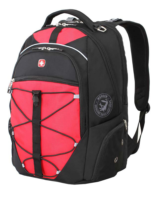 Рюкзак WENGER 6772201408 цвет чёрный красный - Wenger-Victorinox.Ru