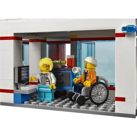 LEGO City: Городская больница 60204 — City Town — Лего Сити Город