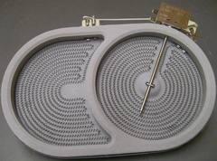 Конфорка овальная 1100/2000W для плиты BEKO 162926012