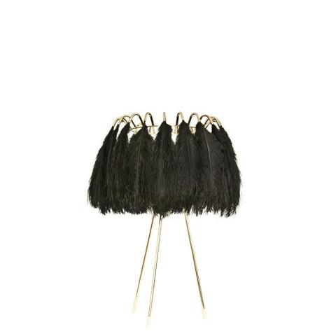 Настольный светильник Feather by Mineheart (черный)