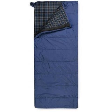 Летний спальный мешок Trimm Comfort TRAMP, 185 R (зеленый, камуфляж, синий)