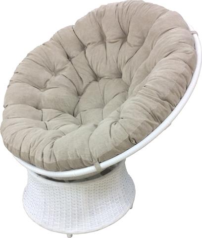 Подушка на крісло Папасан бежева