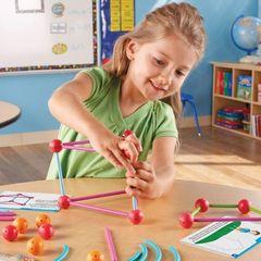 LER9293 Игровой набор Погружение в геометрию СТЕМ, Learning Resources