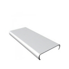 АЛБЕС Панель для потолка / рейка AN85А белая 85х4000мм