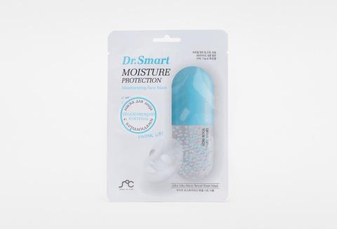 Маска тканевая для лица Dr. Smart увлажняющая с керамидами