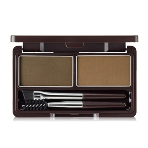 THE SAEM EYE Пудра для бровей 01 Eco Soul Eyebrow Kit 01 Brown 2*2.5гр