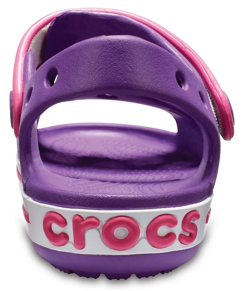 Детские сандалии CROCS Crocband™ Сэндл Кидс Аметист/Пэрэдайз Пинк