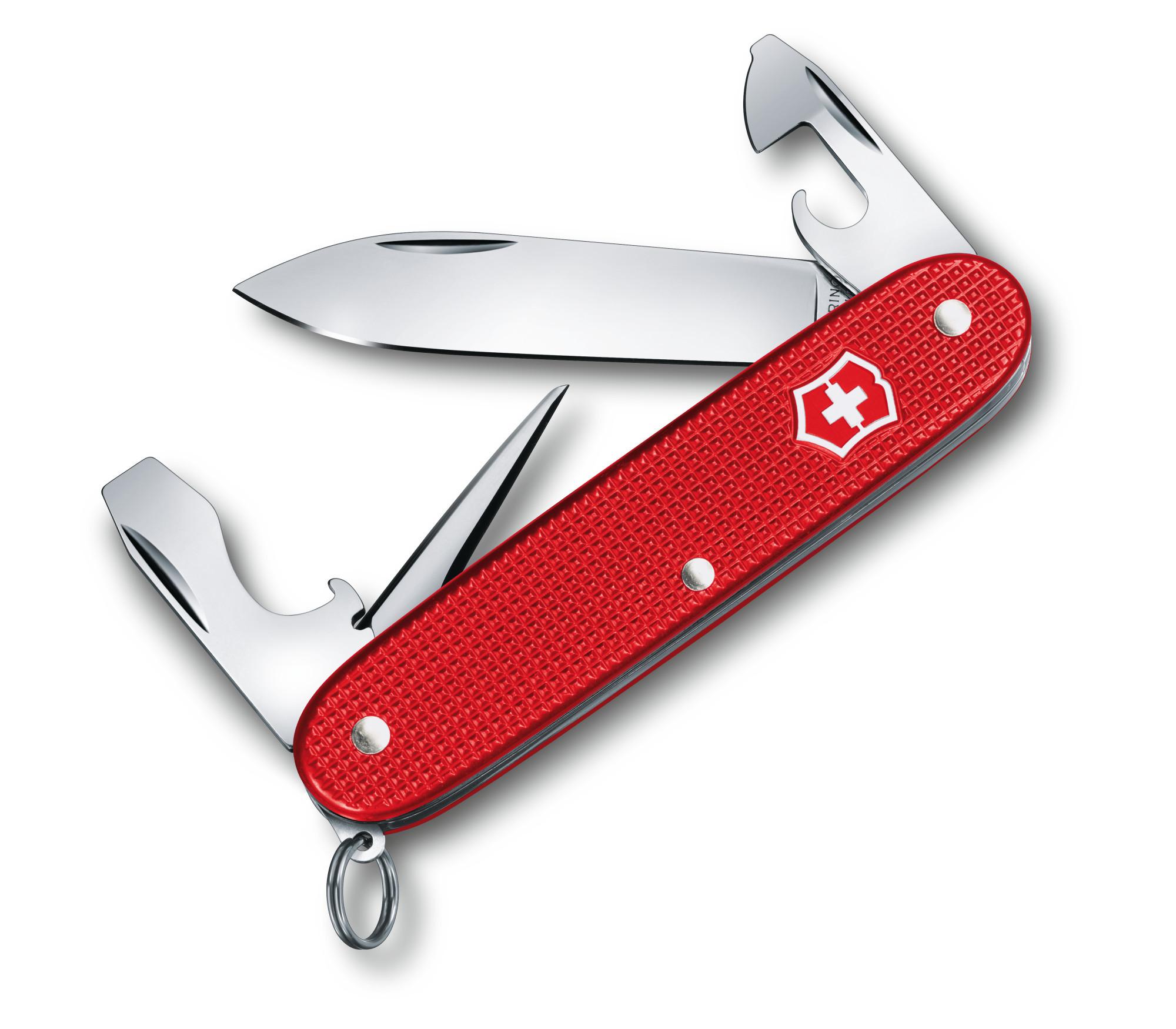 Складной нож Victorinox Pioneer Alox Limited Edition 2018 (0.8201.L18) лимитированное издание, подарочная упаковка