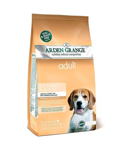 Arden Grange Adult сухой корм для собак со Свининой и рисом 2 кг