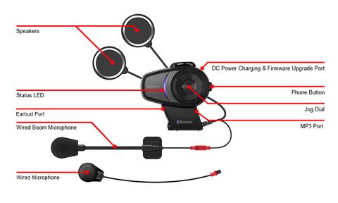 Bluetooth мотогарнитура SENA 10S DUAL