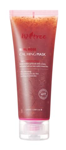 Успокаивающая Маска C Лепестками Дамасской Розы ISNTREE Real Rose Calming Mask