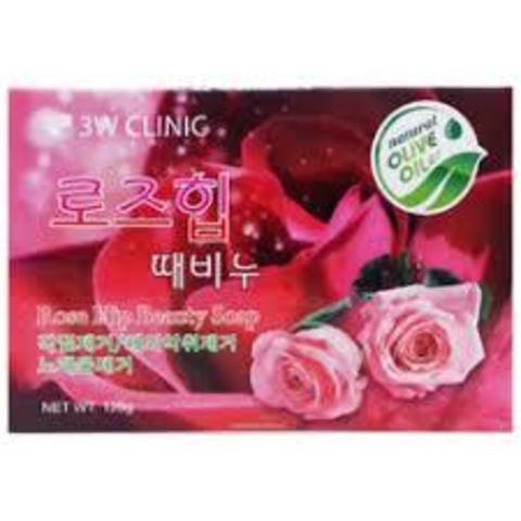 Очищающее Мыло С Шиповником 3W CLINIC Dirt Soap Rose Hip