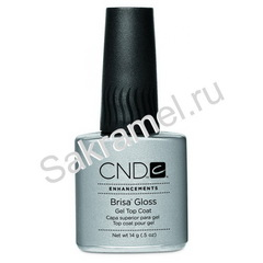 CND Brisa Gloss Gel Top Coat  14гр завершающее верхнее покрытие